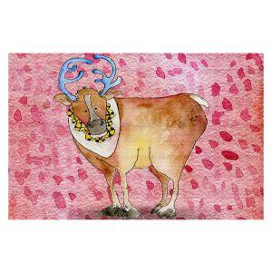 Decorative Floor Coverings   Marley Ungaro Reindeer Raspberry