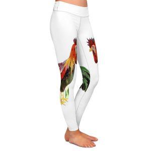 Casual Comfortable Leggings | Marley Ungaro Rooster