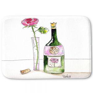 Decorative Bathroom Mats   Marley Ungaro - Rose Wine
