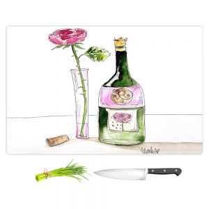Artistic Kitchen Bar Cutting Boards | Marley Ungaro - Rose Wine