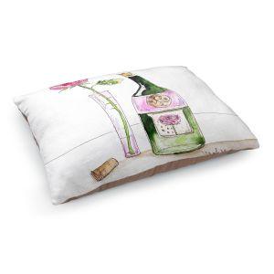 Decorative Dog Pet Beds | Marley Ungaro's Rose Wine