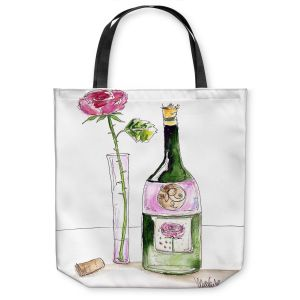 Unique Shoulder Bag Tote Bags | Marley Ungaro Rose Wine