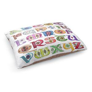 Decorative Dog Pet Beds | Marley Ungaro - Royal Whimsies Alphabet