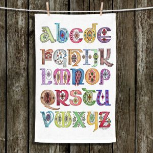 Unique Bathroom Towels | Marley Ungaro - Royal Whimsies Alphabet
