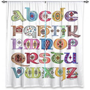 Decorative Window Treatments | Marley Ungaro - Royal Whimsies Alphabet