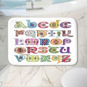 Decorative Bathroom Mats   Marley Ungaro - Royal Whimsies Alphabet