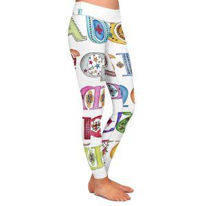 Casual Comfortable Leggings | Marley Ungaro - Royal Whimsies Alphabet