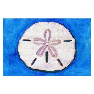 Decorative Floor Covering Mats | Marley Ungaro - Sand Dollar | Ocean seashell still life nature