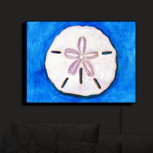 Nightlight Sconce Canvas Light | Marley Ungaro - Sand Dollar