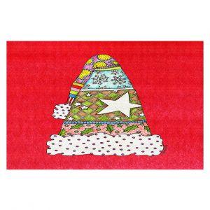 Decorative Floor Coverings   Marley Ungaro - Santa Hat Red   Santa Hat Holidays Christmas