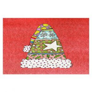 Decorative Floor Coverings   Marley Ungaro - Santa Hat Watermelon   Santa Hat Holidays Christmas