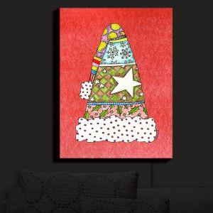 Nightlight Sconce Canvas Light | Marley Ungaro - Santa Hat Watermelon