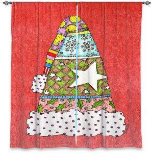 Decorative Window Treatments   Marley Ungaro - Santa Hat Watermelon   Santa Hat Holidays Christmas