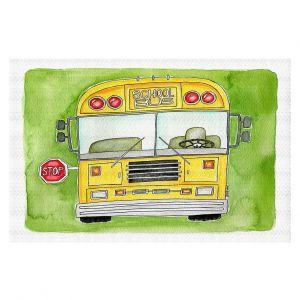 Decorative Floor Covering Mats | Marley Ungaro - School Bus | School Kids