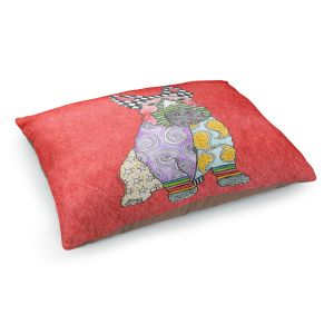 Decorative Dog Pet Beds | Marley Ungaro - Scottish Terrier Watermelon