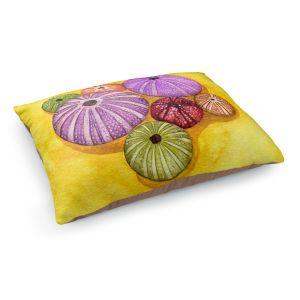 Decorative Dog Pet Beds | Marley Ungaro - Seaurchin Shells | Ocean seashell still life nature