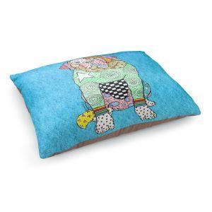 Decorative Dog Pet Beds | Marley Ungaro - Saint Bernard Aqua