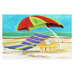 Decorative Floor Covering Mats | Marley Ungaro - Taking a Dip | beach Sun Ocean