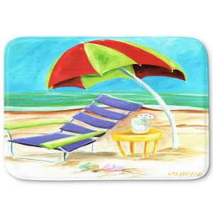Decorative Bathroom Mats | Marley Ungaro - Taking a Dip | beach Sun Ocean