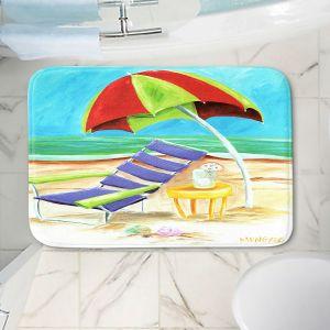 Decorative Bathroom Mats | Marley Ungaro - Taking a Dip | beach Sun Ocean