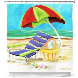 Premium Shower Curtains | Marley Ungaro - Taking a Dip