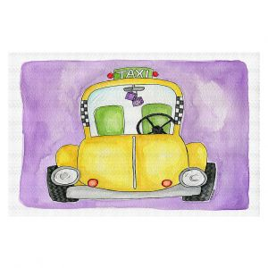 Decorative Floor Covering Mats | Marley Ungaro - Taxi | Taxi Cab City