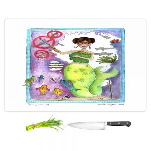 Artistic Kitchen Bar Cutting Boards | Marley Ungaro - Teaching Mermaid