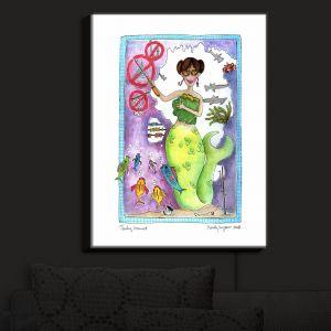 Nightlight Sconce Canvas Light   Marley Ungaro - Teaching Mermaid