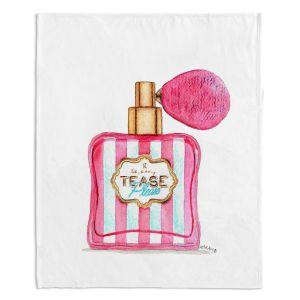 Decorative Fleece Throw Blankets | Marley Ungaro - Tease Please