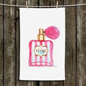 Unique Bathroom Towels | Marley Ungaro - Tease Please Perfume Bottle