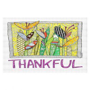 Decorative Floor Covering Mats | Marley Ungaro - Thanksful Flowers | Floral Inspiration