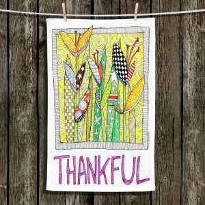 Unique Hanging Tea Towels | Marley Ungaro - Thanksful Flowers