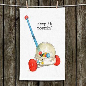 Unique Hanging Tea Towels | Marley Ungaro - Toys Keep it Popping | Childlike Toys Retro Fun