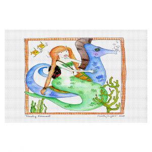 Decorative Floor Coverings | Marley Ungaro Traveling Mermaid