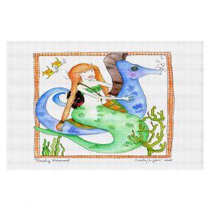 Decorative Floor Coverings | Marley Ungaro Traveling Mermaid