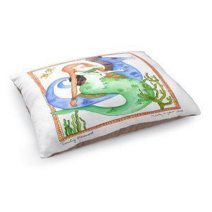 Decorative Dog Pet Beds | Marley Ungaro Traveling Mermaid