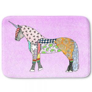 Decorative Bathroom Mats | Marley Ungaro - Unicorn Pastel Violet