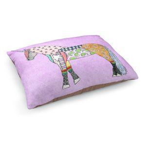 Decorative Dog Pet Beds | Marley Ungaro - Unicorn Pastel Violet