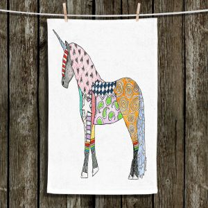 Unique Bathroom Towels | Marley Ungaro - Unicorn White