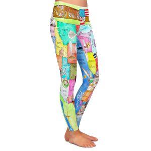 Casual Comfortable Leggings | Marley Ungaro United States MAP Royal Blue