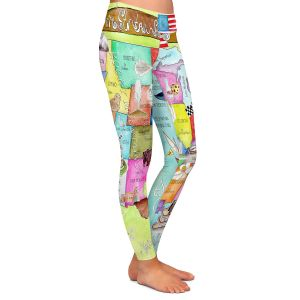 Casual Comfortable Leggings | Marley Ungaro United States MAP Turquoise