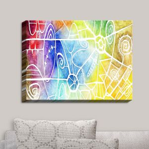 Decorative Canvas Wall Art | Marley Ungaro - Vibrant Boogie | Abstract Colorful
