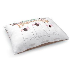 Decorative Dog Pet Beds   Marley Ungaro - We All Scream   halloween Ghosts