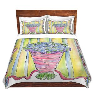 Artistic Duvet Covers and Shams Bedding | Marley Ungaro - Wedding Bouquet | Event flower lace