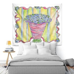 Artistic Wall Tapestry | Marley Ungaro - Wedding Bouquet | Event flower lace