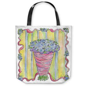 Unique Shoulder Bag Tote Bags | Marley Ungaro - Wedding Bouquet | Event flower lace