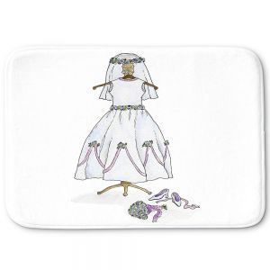 Decorative Bathroom Mats | Marley Ungaro - Wedding Dress | Event gown tailor