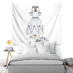 Artistic Wall Tapestry | Marley Ungaro - Wedding Dress | Event gown tailor
