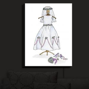 Nightlight Sconce Canvas Light | Marley Ungaro - Wedding Dress