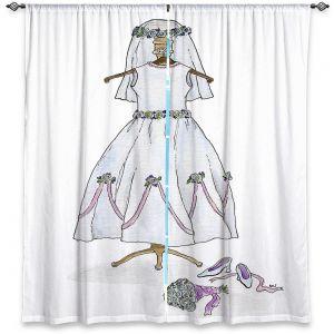 Decorative Window Treatments | Marley Ungaro - Wedding Dress | Event gown tailor